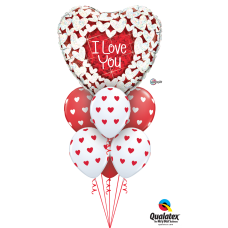 Glittering Hearts Valentine Deluxe