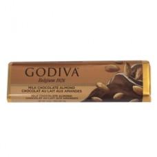 Godiva Milk Chocolate Almond Bar